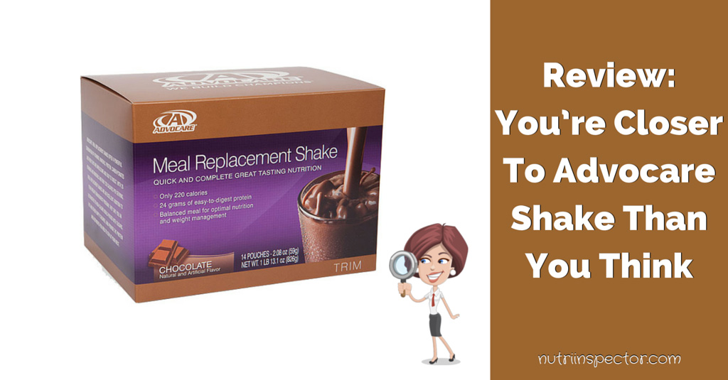 Advocare Shake Review