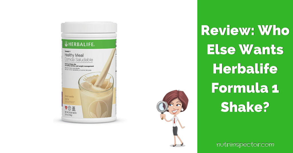 Review: How to Lose Weight with Herbalife Formula 1? | Nutri