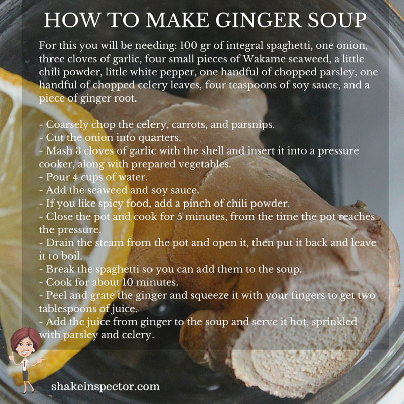 How To Make Ginger Soup