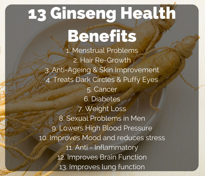 13 Ginseng Health Benefits