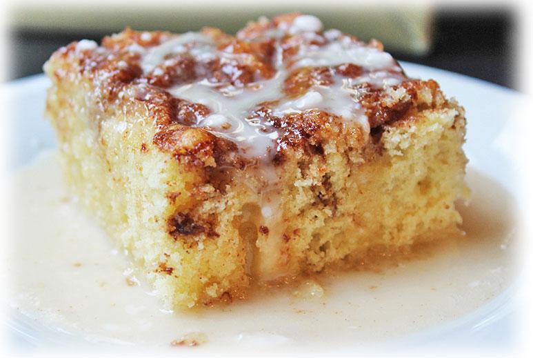 7 EASY CINNAMON ROLL COFFEE CAKE