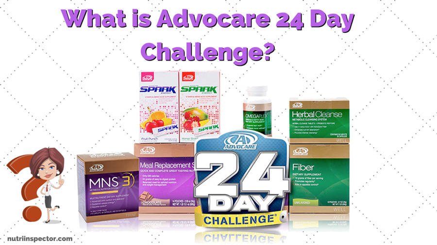 My Inspection & Review: What is Advocare 24 Day Challenge ...
