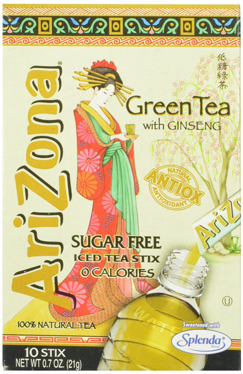 Arizona Green Tea Powder Stix