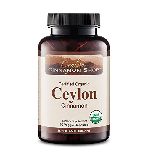 2 Organic Ceylon Cinnamon Supplement
