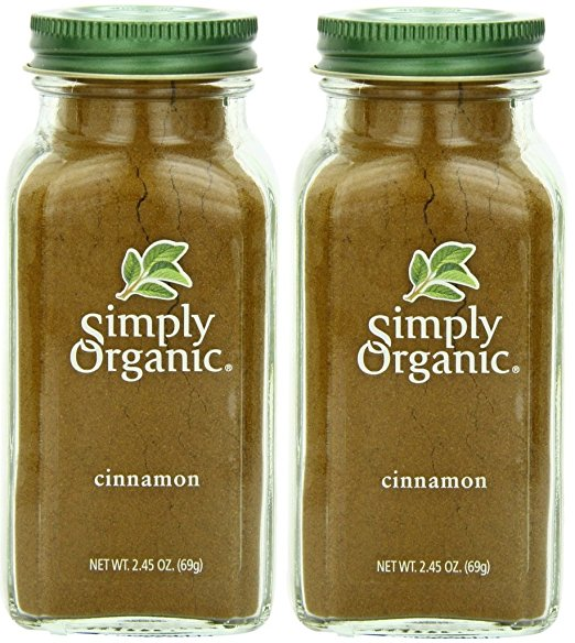 5 Simply Organic Cinnamon Ground