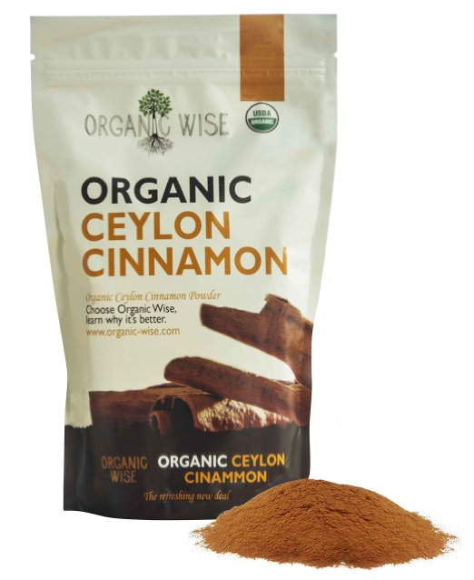 6 Organic Wise Ceylon Cinnamon Ground Powder