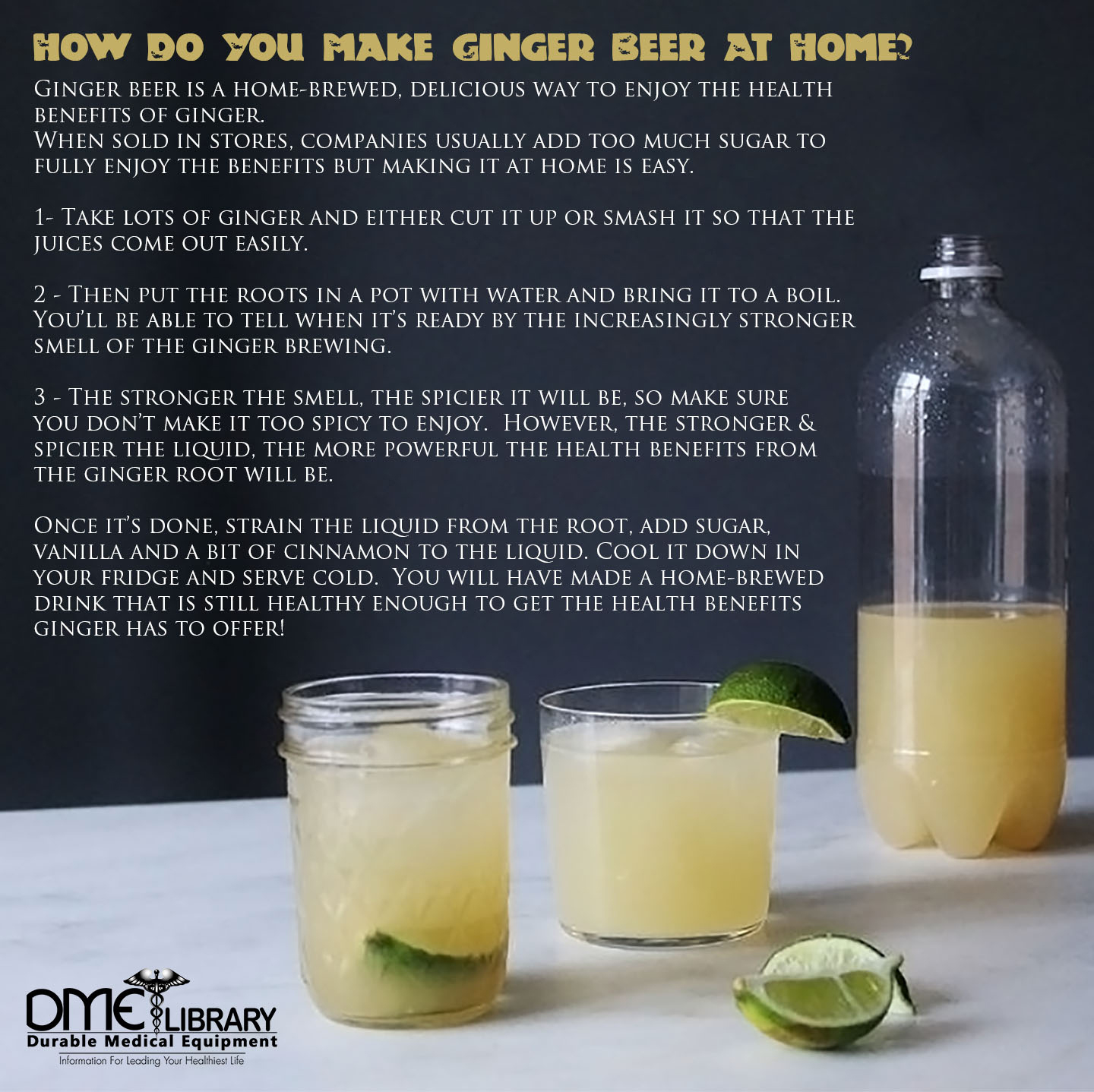 How Do You Make Ginger Beer At Home