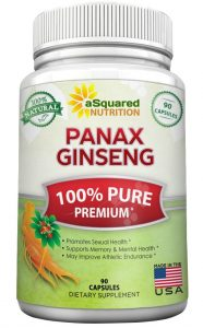 Asquared Nutrition Red Korean Ginseng
