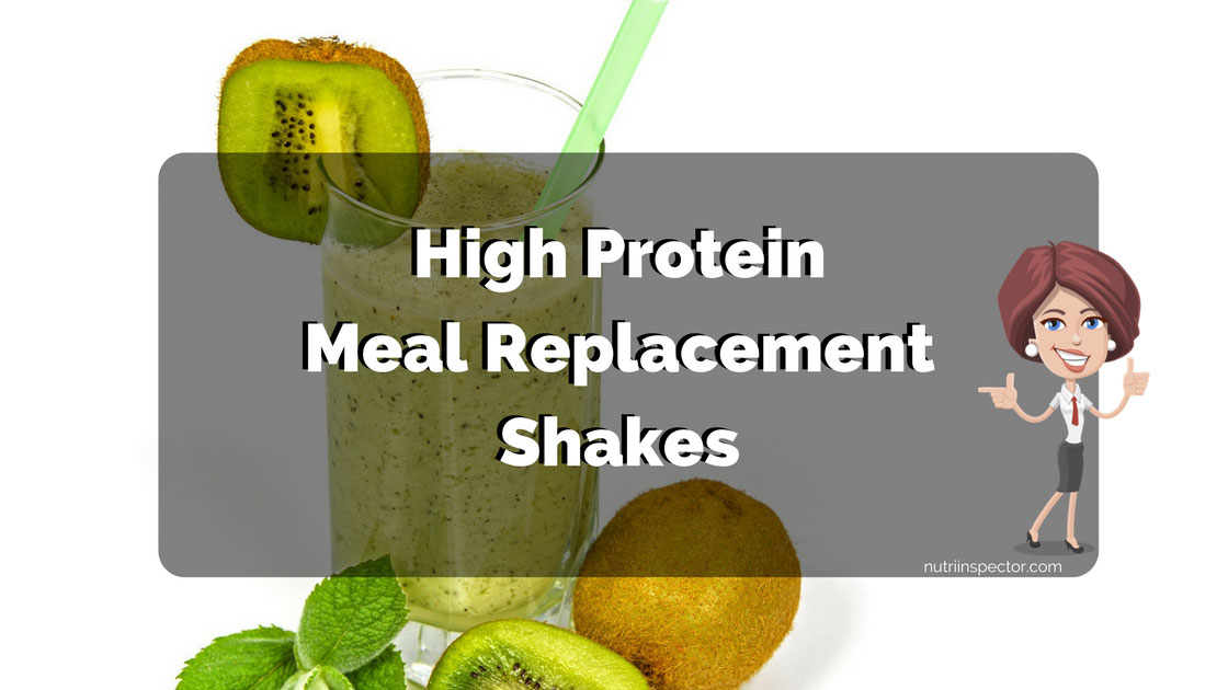 High Protein Meal Shakes