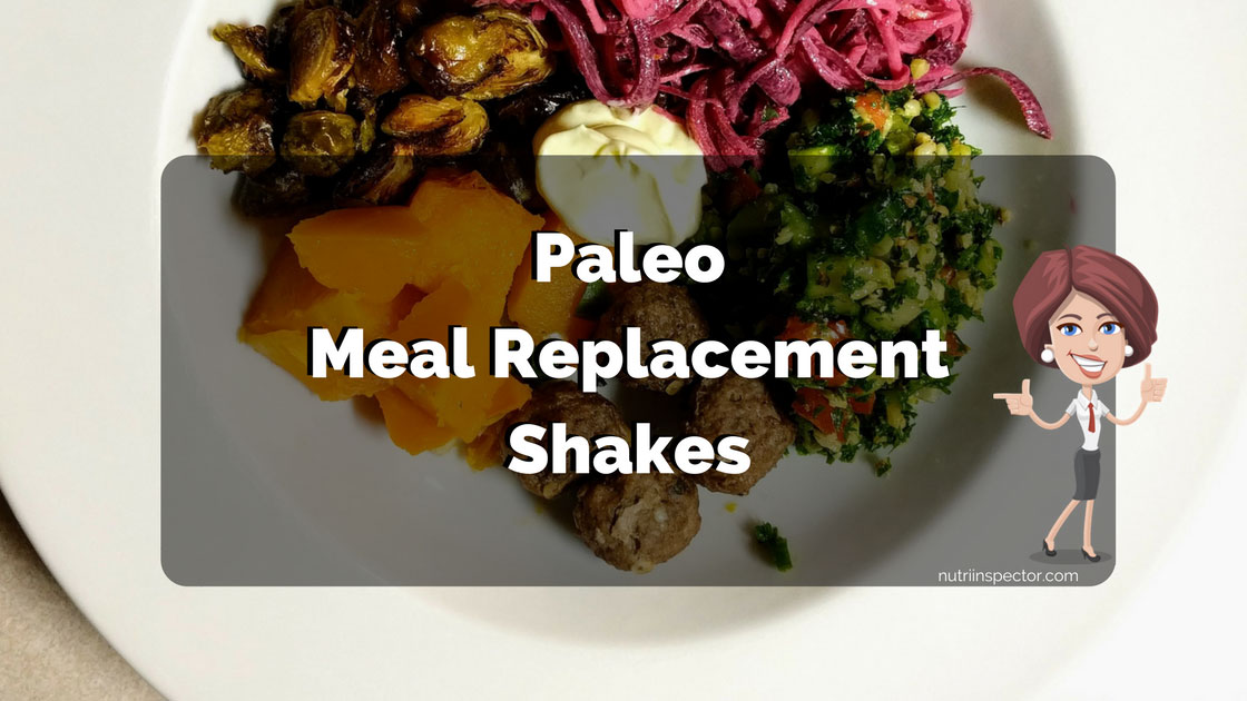Paleo Meal Replacement Shakes