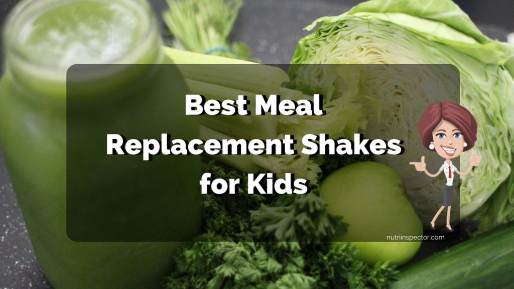 Meal Replacement Shakes For Kids