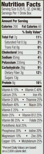 Orgain Kids Nutritional Shake Ingredients
