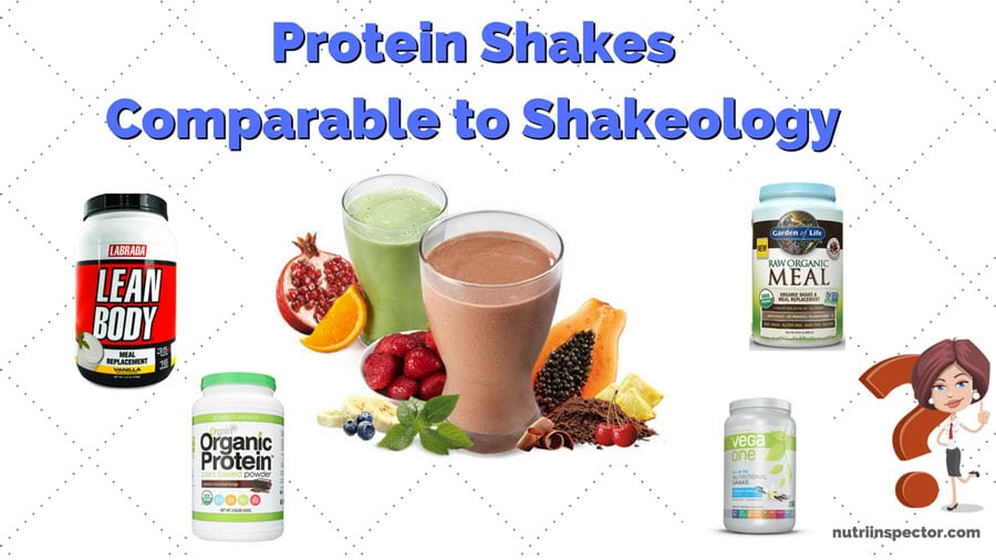 Protein Shakes Comparable Shakeology