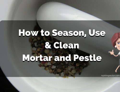 How to Season, Use and Clean a Mortar and Pestle