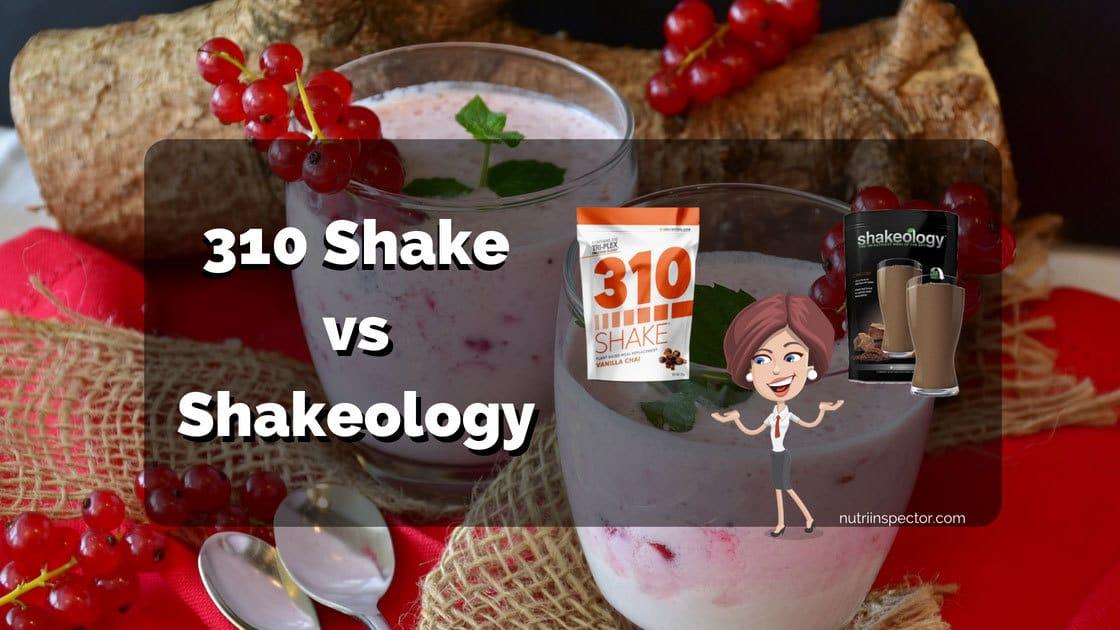 Shakeology Vs 310 Shake