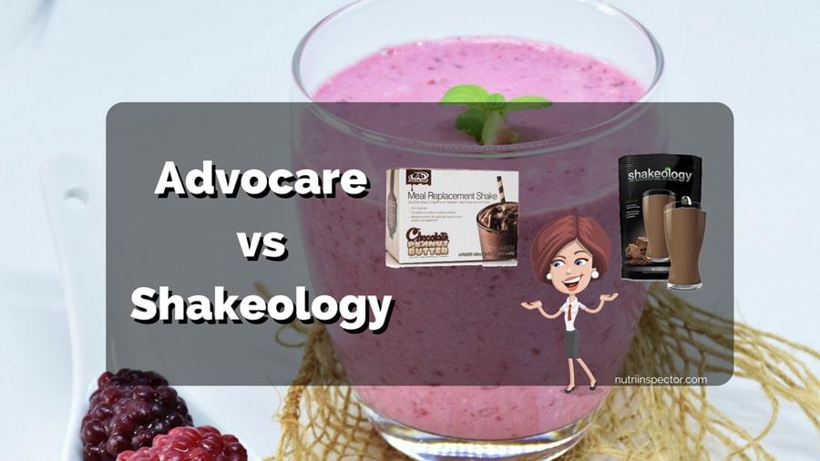 Advocare Vs Shakeology