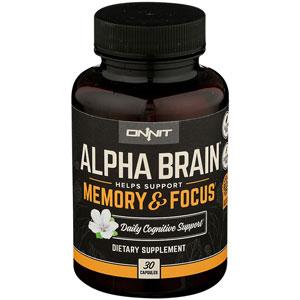 Alpha Brain Nootropi Stack