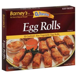 Barney's Egg Rolls