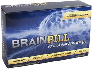 BrainPill Best Nootropic Supplement
