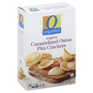 Organic Caramelized Onion Pita Crackers