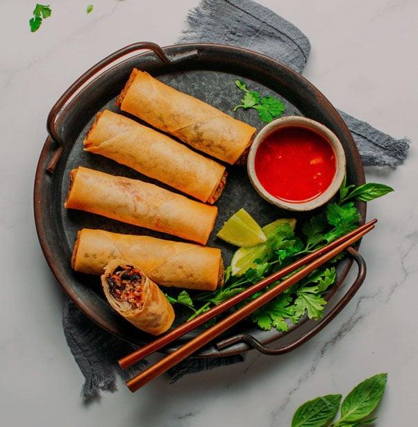 Vietnamese Inspired Egg Roll