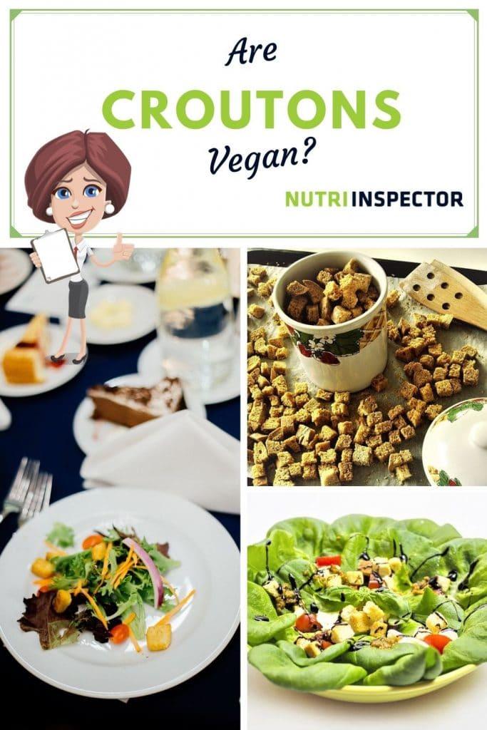 Are Croutons Vegan Pin