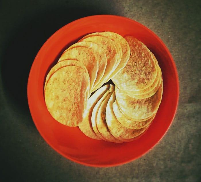 Corn Flour Chips Pringles