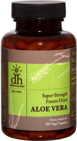 Desert Harvest Aloe Vera Supplements For IC Patients