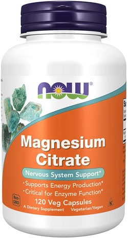 Now Magnesium Citrate Supplements For IC
