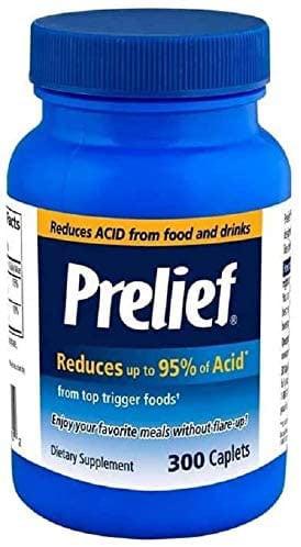 Prelief Prelief Acid Reducer Caplets Dietary Supplement For IC Patients