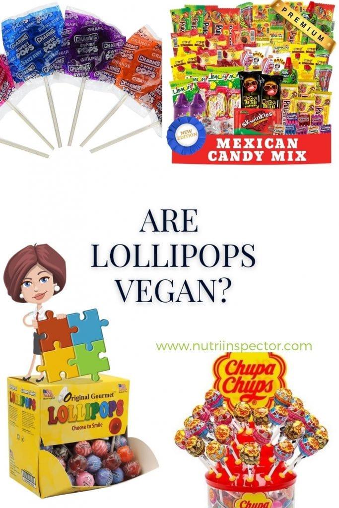 Are Lollipops Vegan