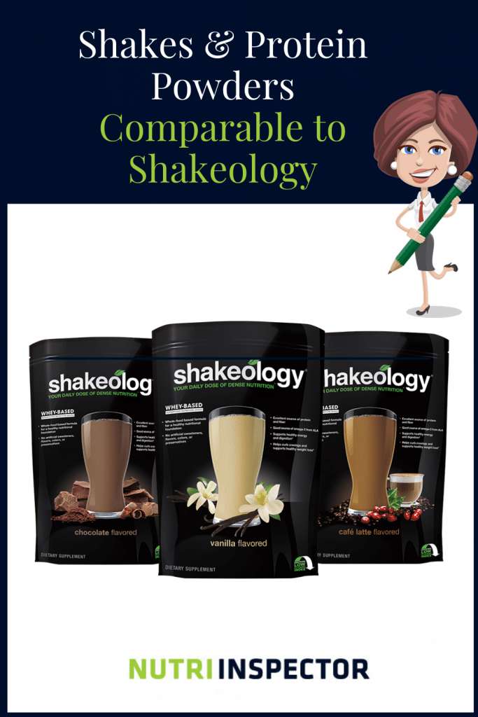 Protein Shakes Comparable To Shakeology 01