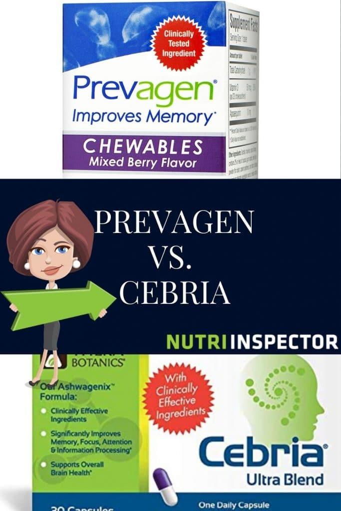 Cebria Vs Prevagen