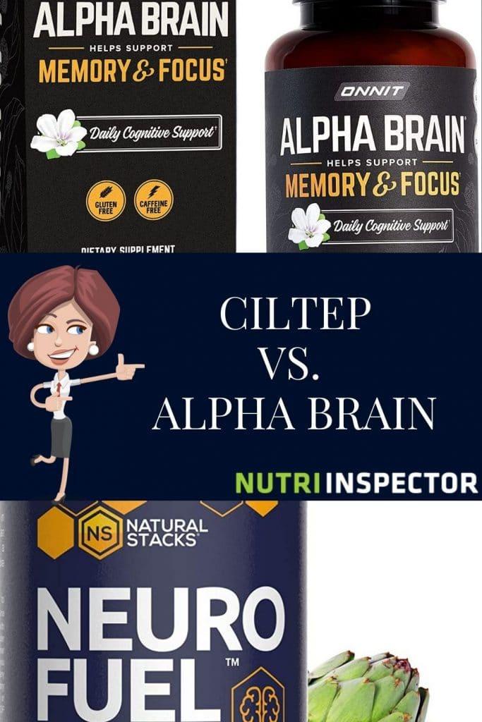 Alpha Brain Vs Ciltep Neurofuel