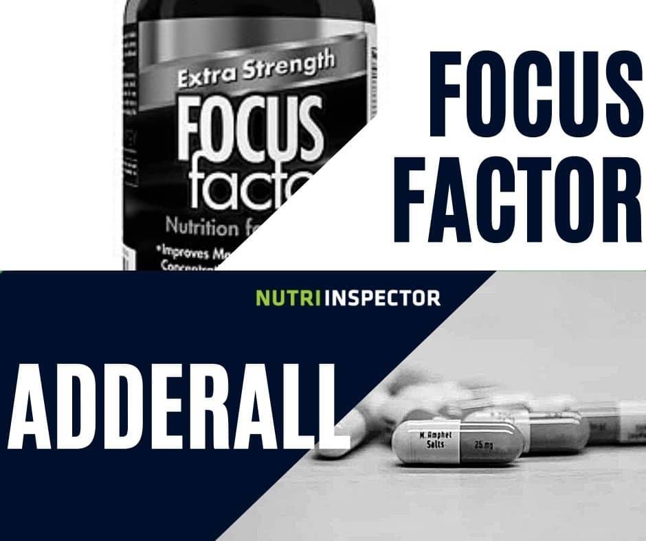 Adderall Vs Focus Factor
