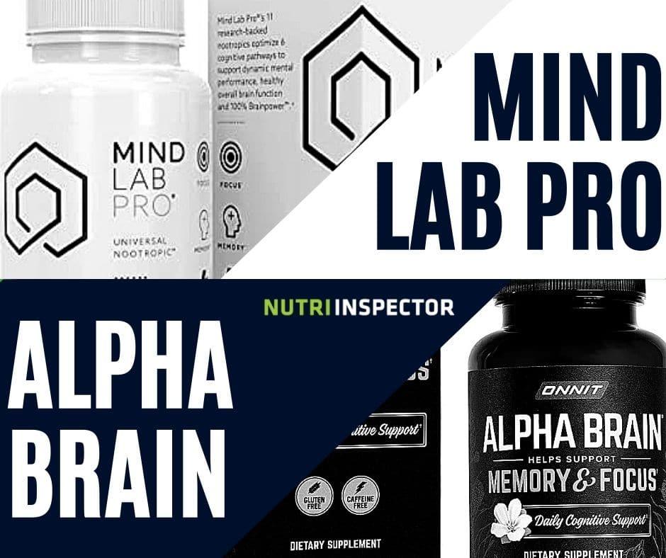 Alpha Brain Vs Mind Lab Pro